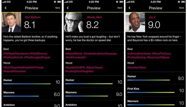46f80014c App para mulher avaliar rapazes, Lulu vira hit e já é usado como vingança  ...