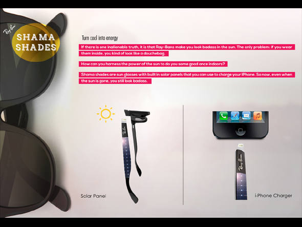 f68cba67f Óculos usa energia solar para recarregar smartphone. - Seeders Emotion +  Technology
